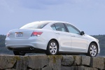 2010 Honda Accord Sedan V6 in White Diamond Pearl - Static Rear Right Three-quarter View