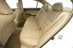 Picture of 2010 Honda Accord Sedan Rear Seats in Ivory
