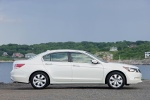 2010 Honda Accord Sedan V6 in White Diamond Pearl - Static Right Side View