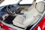 2010 Honda Accord Coupe Front Seats in Ivory