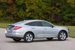 2010 Honda Accord Crosstour in Alabaster Silver Metallic - Static Rear Right Three-quarter View