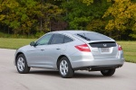 2010 Honda Accord Crosstour in Alabaster Silver Metallic - Static Rear Left Three-quarter View