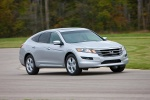 2010 Honda Accord Crosstour in Alabaster Silver Metallic - Driving Front Right View