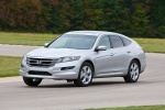 2010 Honda Accord Crosstour in Alabaster Silver Metallic - Driving Front Left View