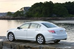 2010 Honda Accord Sedan V6 in White Diamond Pearl - Static Rear Left Three-quarter View