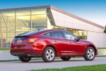 2011 Honda Accord Crosstour in San Marino Red - Static Rear Right Three-quarter View
