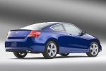 2012 Honda Accord Coupe EX-L V6 in Belize Blue Pearl - Static Rear Right View