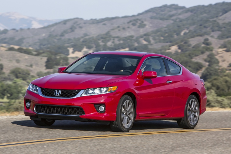 2013 Honda Accord Coupe Ex L V6 In San Marino Red Color