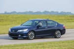 Picture of 2014 Honda Accord Hybrid Sedan Touring in Obsidian Blue Pearl