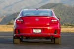 2015 Honda Accord Coupe EX-L V6 in San Marino Red - Static Rear View