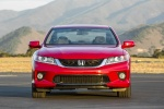 2015 Honda Accord Coupe EX-L V6 in San Marino Red - Static Frontal View