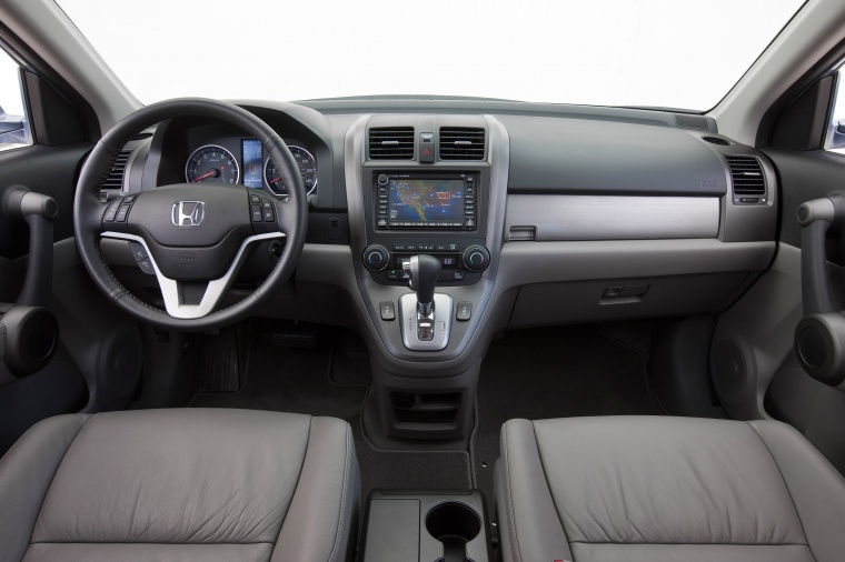 Santa Fe Chevrolet >> 2011 Honda CR-V EX-L Cockpit in Gray Color - Picture | Image