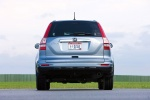 2011 Honda CR-V EX-L in Glacier Blue Metallic - Static Rear View