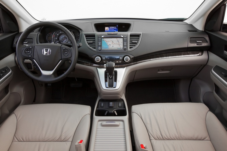 2012 Honda CR-V EX-L AWD Cockpit in Beige