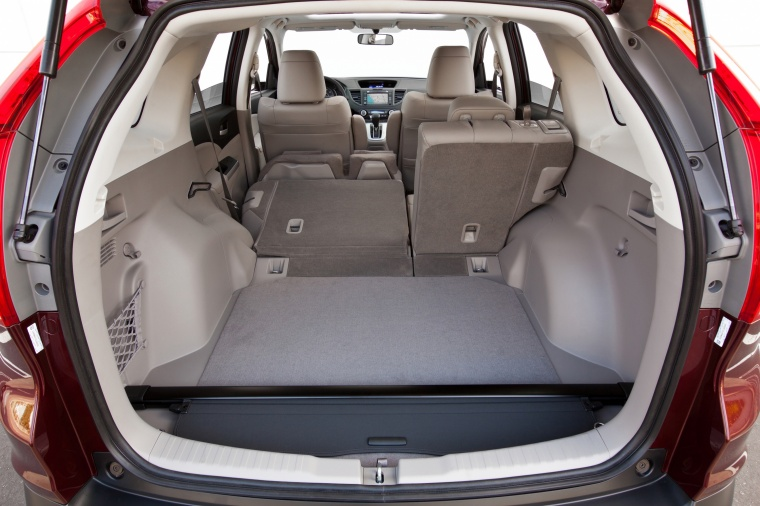 2012 Honda CR-V EX-L AWD Trunk in Beige