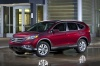 2012 Honda CR-V EX-L AWD in Basque Red Pearl II from a front left three-quarter view