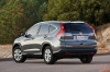 2012 Honda CR-V EX-L AWD in Urban Titanium Metallic from a rear left view