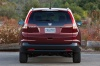 2012 Honda CR-V EX-L AWD in Basque Red Pearl II from a rear view