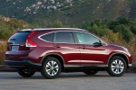 2012 Honda CR-V EX-L AWD in Basque Red Pearl II - Static Rear Right Three-quarter View