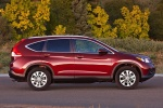 2012 Honda CR-V EX-L AWD in Basque Red Pearl II - Static Side View