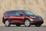 2012 Honda CR-V EX-L AWD in Basque Red Pearl II - Static Front Right Three-quarter View