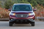 2012 Honda CR-V EX-L AWD in Basque Red Pearl II - Static Frontal View