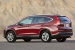 2012 Honda CR-V EX-L AWD in Basque Red Pearl II - Static Rear Left Three-quarter View