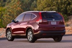 2012 Honda CR-V EX-L AWD in Basque Red Pearl II - Static Rear Left View