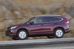2012 Honda CR-V EX-L AWD in Basque Red Pearl II - Driving Side View