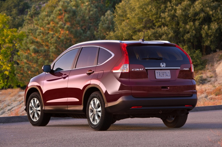 2013 Honda Cr V Ex L Awd In Basque Red Pearl Ii Color