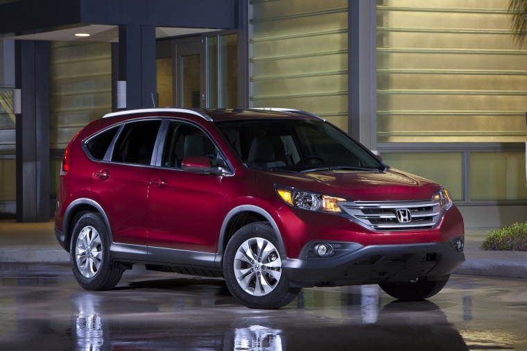 2013 Honda CR V EX L AWD In Basque Red Pearl II From A