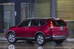 2013 Honda CR-V EX-L AWD in Basque Red Pearl II - Static Rear Left Three-quarter View