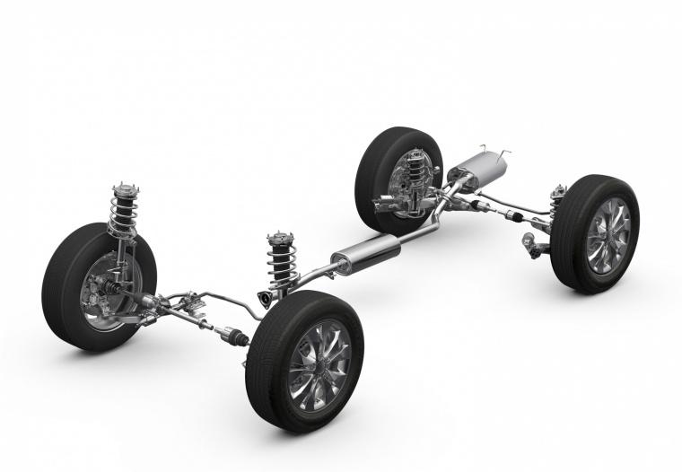 Picture of a 2014 Honda CR-V's Drivetrain