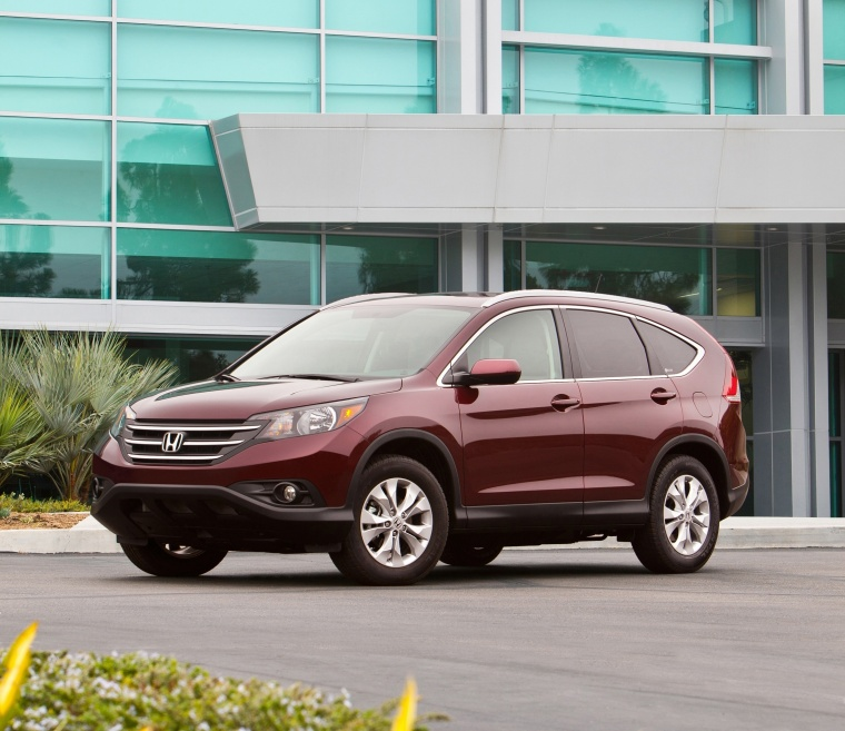 2014 Honda CR-V EX-L AWD in Basque Red Pearl II Color ...