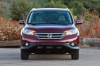 Picture of a 2014 Honda CR-V EX-L AWD in Basque Red Pearl II from a frontal perspective