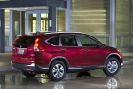 2014 Honda CR-V EX-L AWD in Basque Red Pearl II - Static Rear Right Three-quarter View