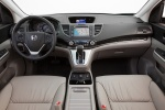 Picture of a 2014 Honda CR-V EX-L AWD's Cockpit in Beige