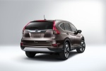 2015 Honda CR-V Touring in Modern Steel Metallic - Static Rear Right Three-quarter View