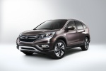 2015 Honda CR-V Touring in Modern Steel Metallic - Static Front Left Three-quarter View