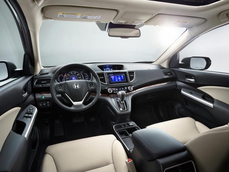 2016 Honda CR-V Touring Cockpit Picture