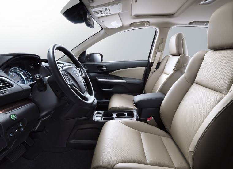 2016 Honda CR-V Touring Front Seats Picture