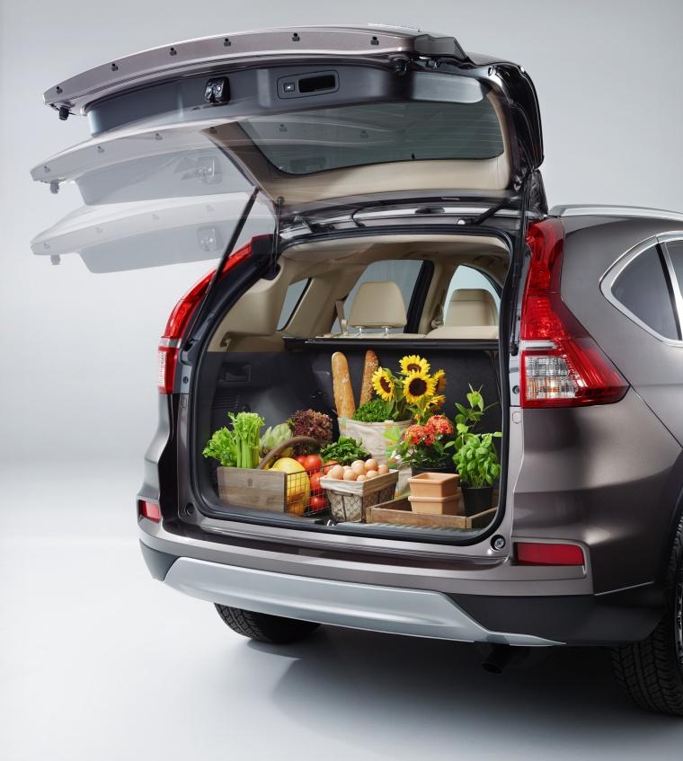 2016 Honda CR-V Touring Trunk Picture