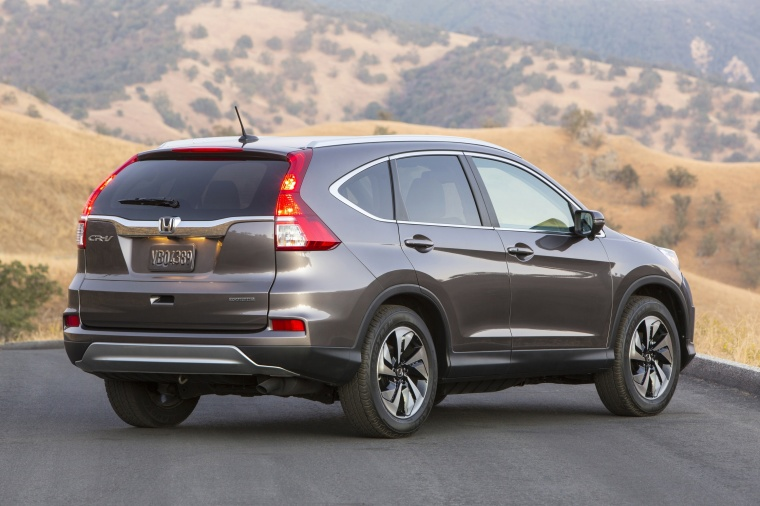 What does a honda crv look like