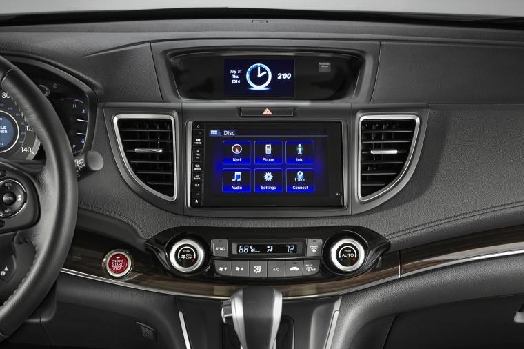 2016 Honda CR-V Touring Center Stack Picture