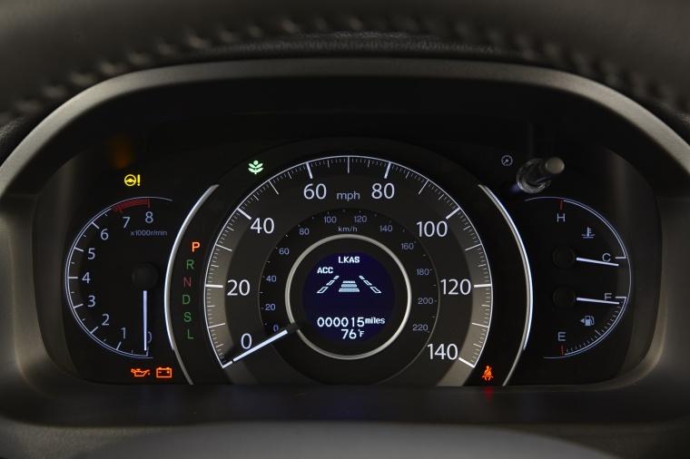 2016 Honda CR-V Touring Gauges Picture
