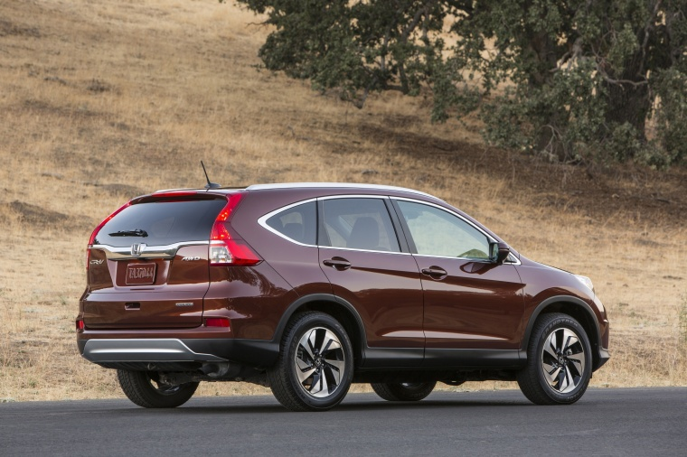 2016 honda cr v touring awd in basque red pearl ii color static rear right three quarter. Black Bedroom Furniture Sets. Home Design Ideas