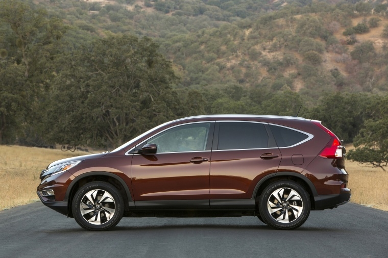 2016 Honda Cr V Touring Awd Static Side View Picture