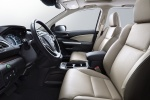 Picture of a 2016 Honda CR-V Touring's Front Seats in Beige