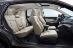 Picture of a 2016 Honda CR-V Touring's Interior in Beige