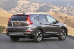 Picture of a 2016 Honda CR-V Touring in Modern Steel Metallic from a rear right three-quarter perspective